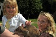 Exotic animals visit Secret Hills Discovery Centre in Craven Arms