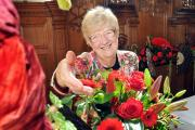 Blooms bring beauty to Stokesay Flower Festival